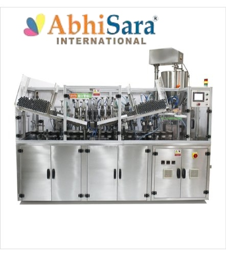 8 KW Linear Tube Filling Machine
