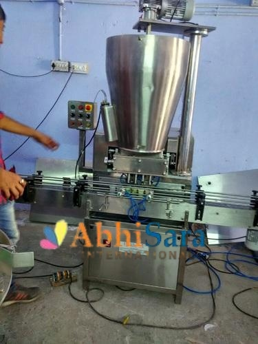Automatic 4 Head Viscous Liquid Filling Machine