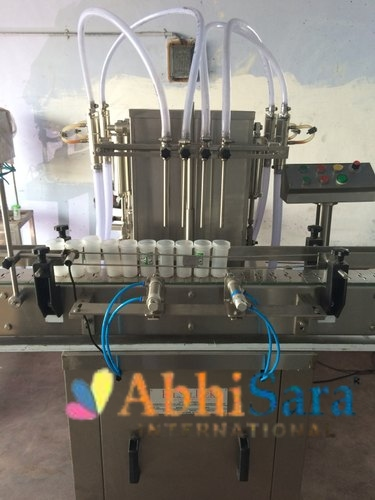 Automatic Engine Oil Filling Machine