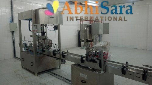 Automatic Ghee Jar Packing Machine