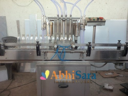 Automatic Glass Filling and Sealing Machine