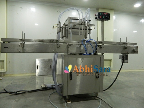 Automatic Lubricant Oil Filling Machine