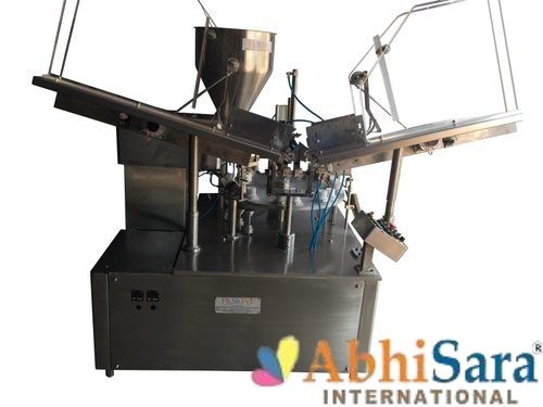 Automatic One Head Tube Filling And Sealing Machine