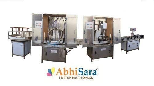 Automatic Stainless Steel Pesticides Filling Machine