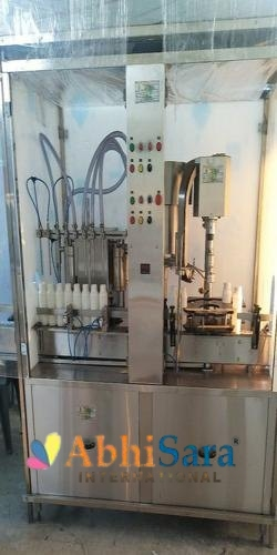 Cooking Oil Filling and Capping Machine