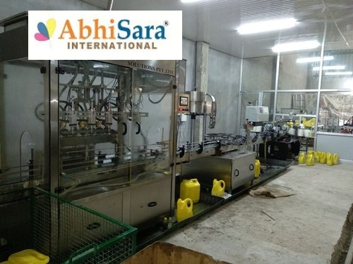 Electric Edible Oil Filling Plant