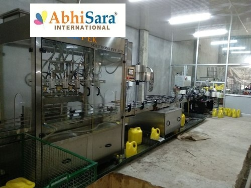 Electric Engine Oil Filling Machine