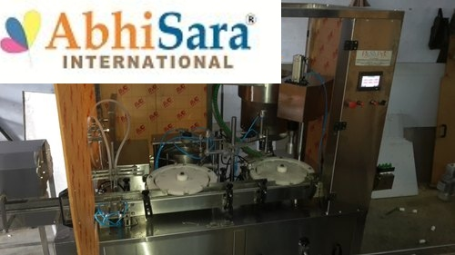 Eye Drop Filling And Capping Machine