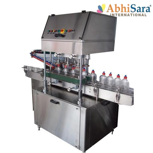 HDPE Edible Oil Capping Machine