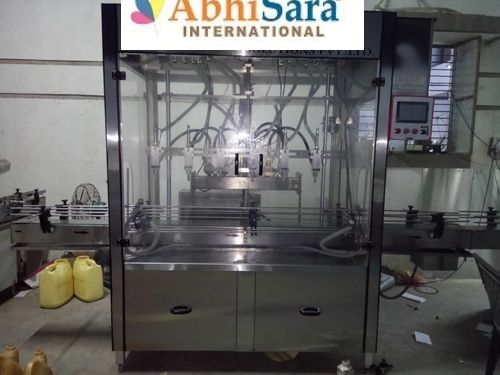 Semi-Automatic Lube Oil Filling Machine