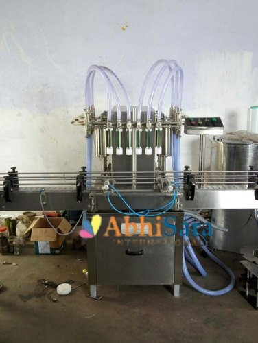 Six Head Liquid Filling Machine