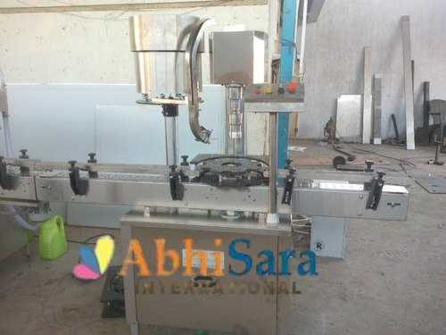 Stainless Steel Screw Capping Machine